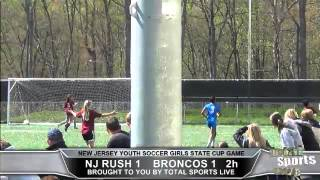 NJ YOUTH SOCCER Broncos vs Rush Total Turf Live