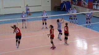 Волейбол. Девушки. Нападающий удар