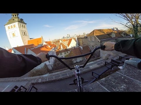 DailyCruise 14: Riding BMX Street in Tallinn, Estonia
