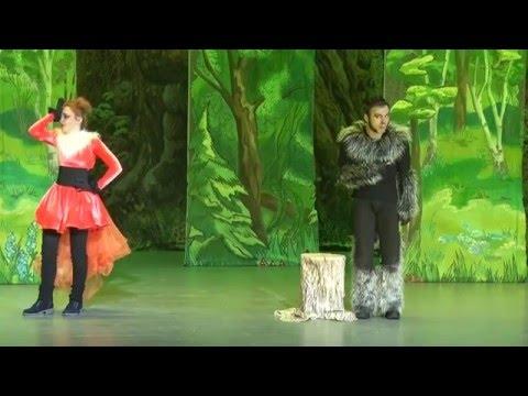Московский детский театр Бемби Натальи Бондарчук. Красная Шапочка спектакль для детей