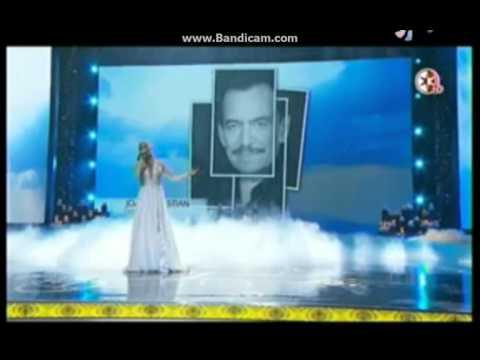 Maite Perroni Canta Yo te extrañare En Premios TVyNovelas 2016