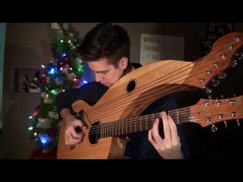 Jingle Bell Rock & Winter Wonderland  Harp Guitar   Jamie Dupuis