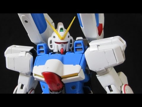 MG V-Dash Gundam (Part 3: Combined MS) Victory Gundam Core Booster Review
