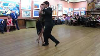 Jenny & Ricardo Oria at Glasgow Tango Winter Ball 2017 (1st dance)
