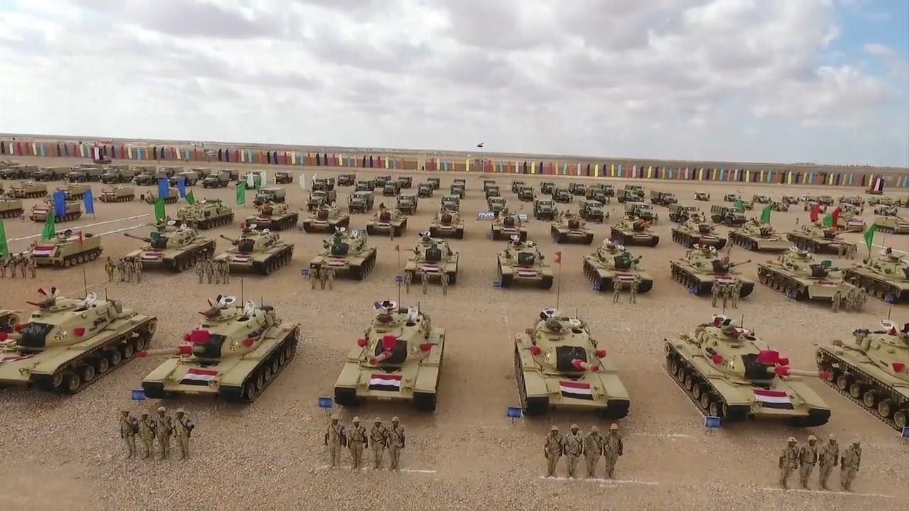الجيش المصري - ينفذ المناورة (رعد26) و(جالوت8) بمشاركة تشكيلات ووحدات المنطقة الغربية العسكرية - YouTube