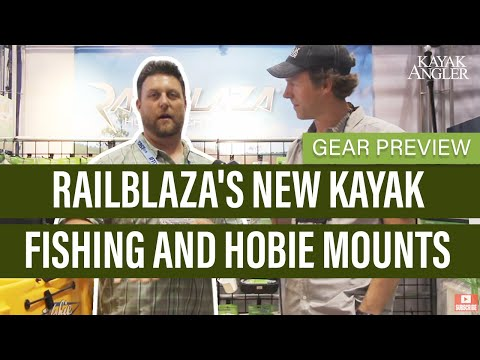 Railblaza's New Kayak Fishing And Hobie Mounts | Gear Preview