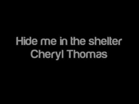 Hide Me In The Shelter - Cindy Rethmeier
