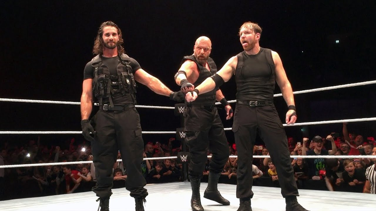 Download The Shield recruit Triple H at WWE Live Event in Glasgow 2017