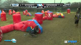 The best PSP Paintball match of 2013. Dynasty vs Infamous at PSP Dallas