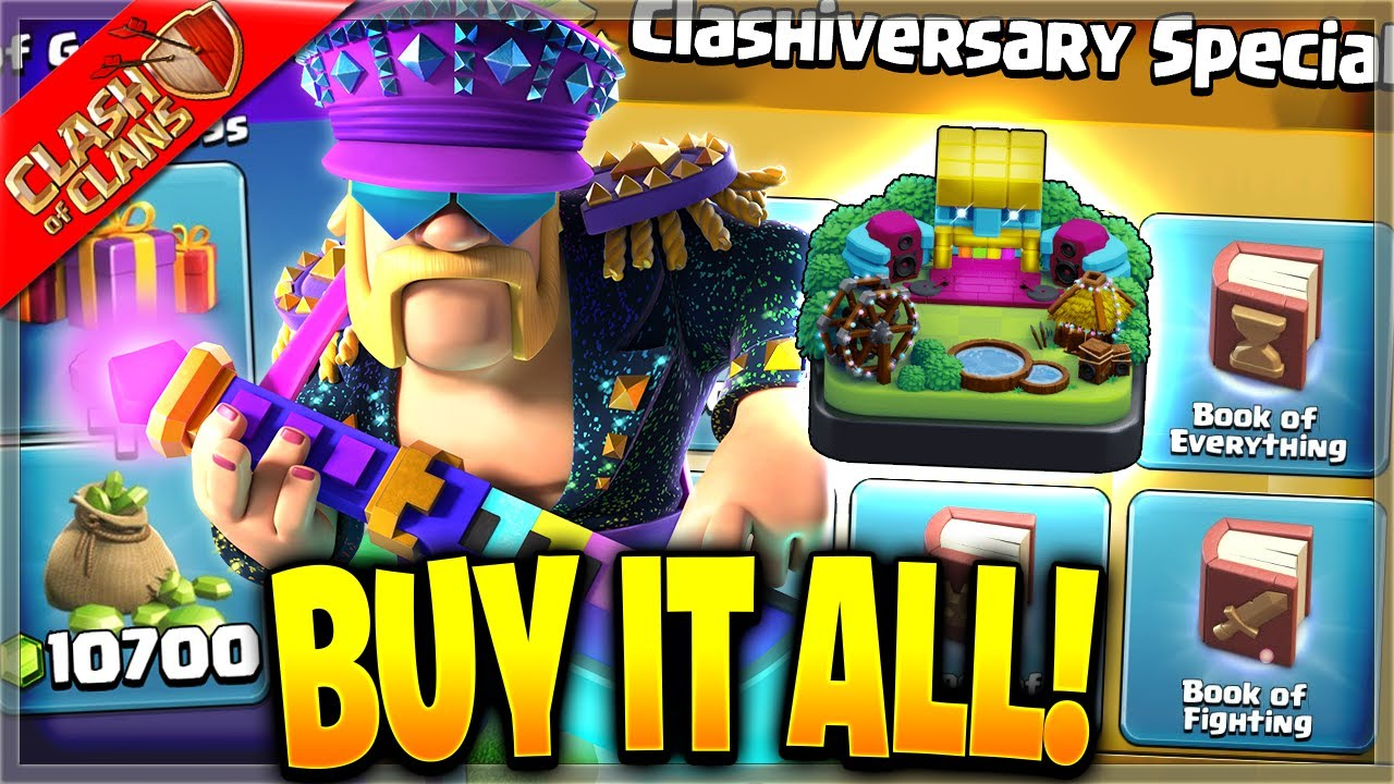 BUYING EVERY NEW SPECIAL OFFER FROM THE SHOP! (Clash of Clans)