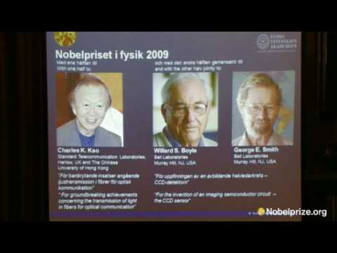 The 2009 Nobel Prize in Physics