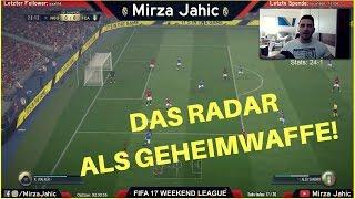 DAS RADAR ALS GEHEIMWAFFE | SO VERSCHAFFT IHR EUCH EINEN VORTEIL! | FIFA 17 ULTIMATE TEAM