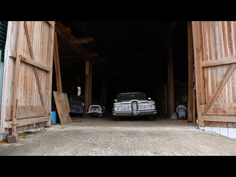Massive Barn Find, Join us as We Take a Walk Through Classic Cars, Been Sitting For 25 Years