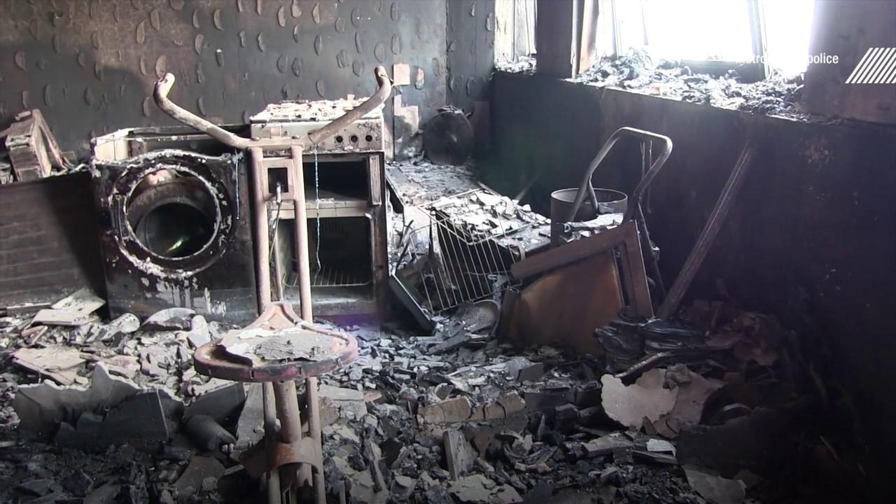 Incendie de londres des images de l 39 int rieur de la tour for De pagter antiek interieur b v