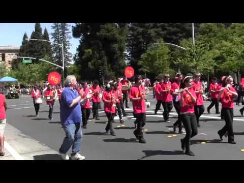 2012 Santa Rosa Rose Parade-Herbert Slater Middle School