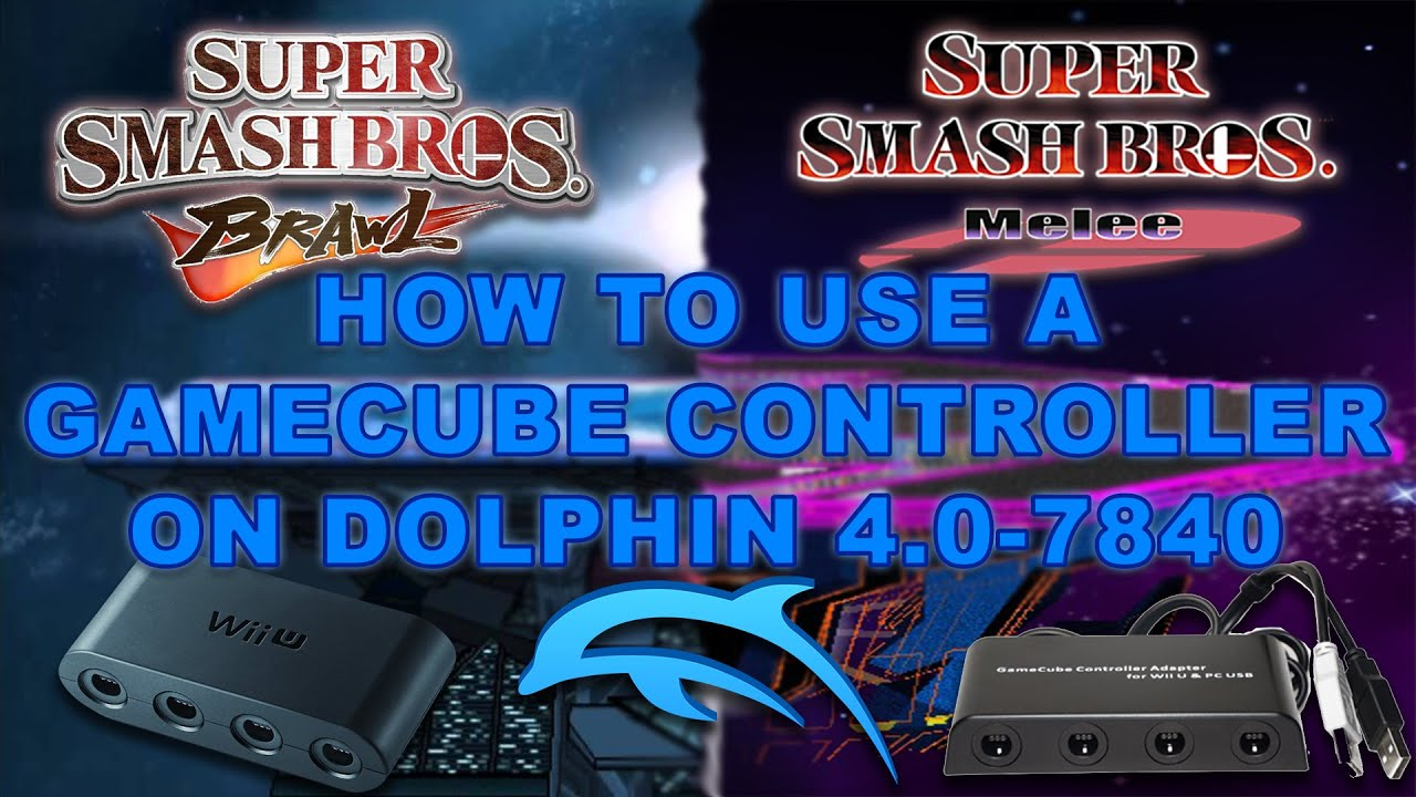 How To Use a GameCube Controller on PC! (Mayflash Adapter / Dolphin  4 0-7840 or NEWER)