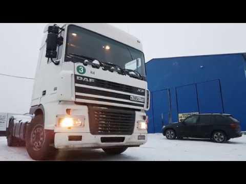 Видео-обзор: Седельный тягач DAF XF 95.430 (от «Трак-Платформа»)