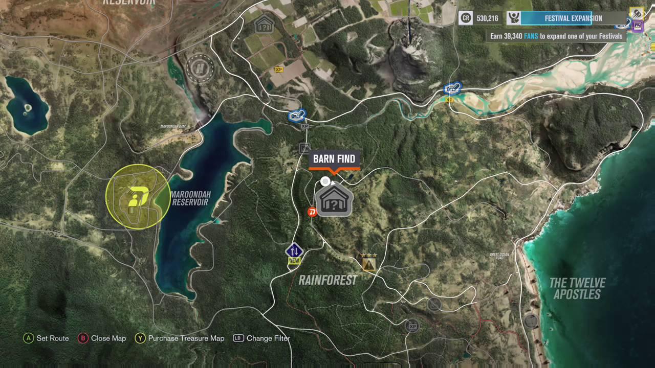 Forza Horizon 3 Barn Find 4 Location Rainforest Youtube