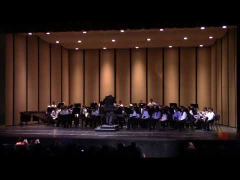 Terra Cotta Middle School Concert Band District Band Day 2017