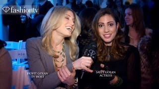 Actress Sally Golan Interview Hosted by Hofit Golan | FashionTV