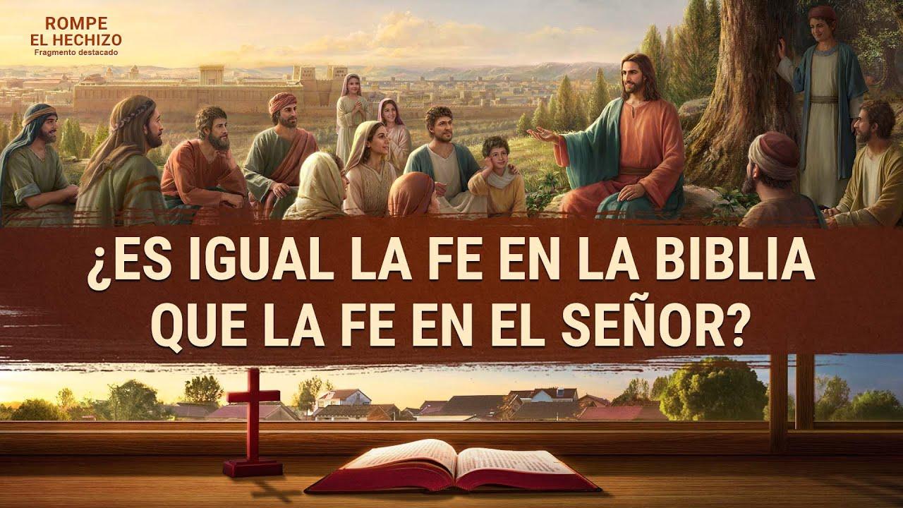 """Película evangélica """"Rompe el hechizo"""" Escena 4 - ¿Es igual la fe en la Biblia que la fe en el Señor?"""