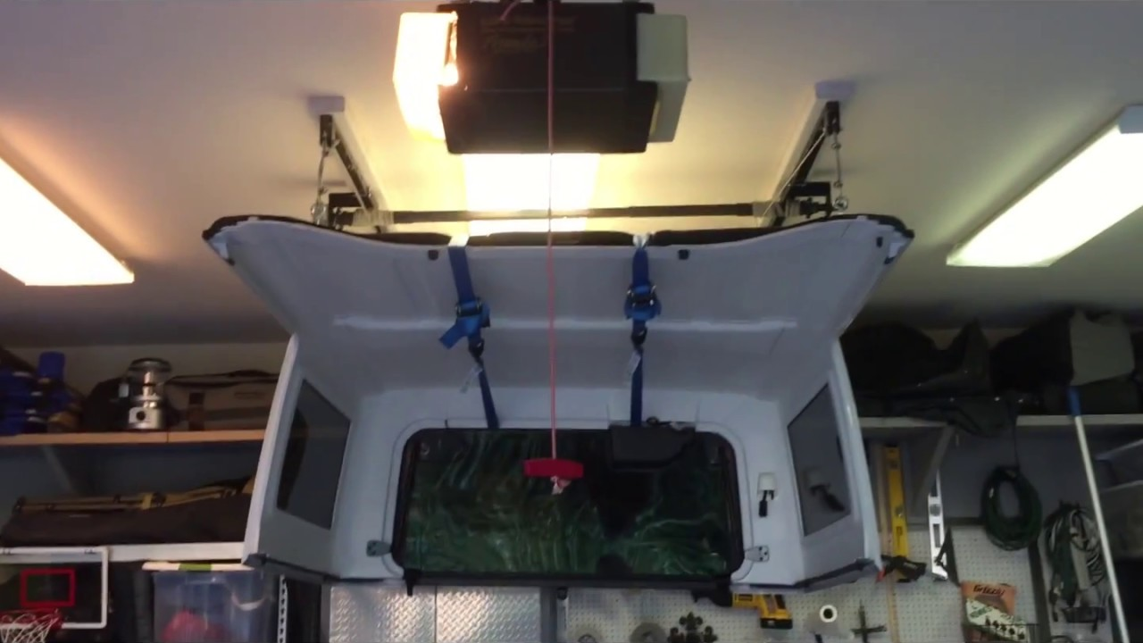 Racor Storage Rack Jeep Hard Top Storage Youtube