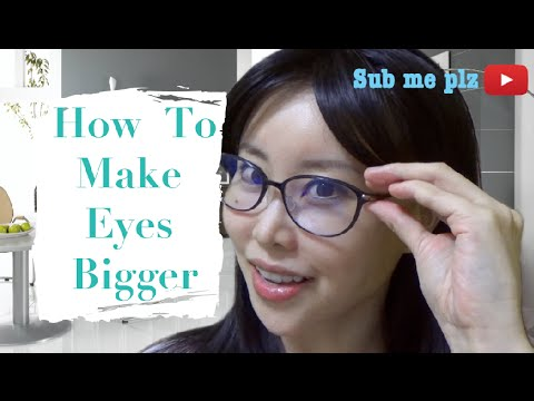 How To Make Your Eyes Bigger Without Makeup Or Plastic