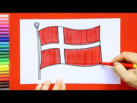How To Draw The Flag Of Denmark