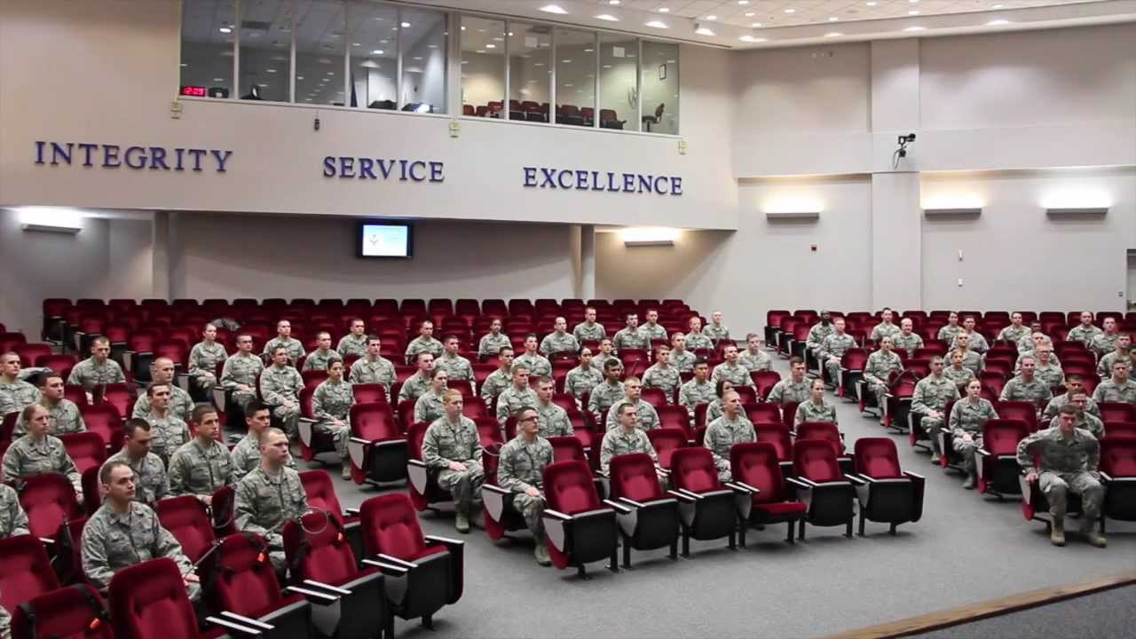 Air force officer training school class 14 03 youtube - Military officer training school ...