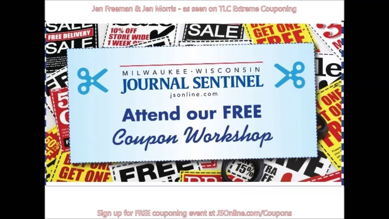 jen freeman  jen morris extreme couponing  milwaukee sentinel journal youtube
