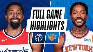WIZARDS at KNICKS   NBA PRESEASON FULL GAME HIGHLIGHTS   October 15, 2021