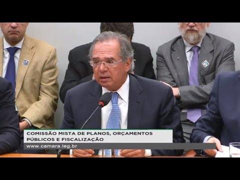 CMO - Ministro Paulo Guedes fala sobre LDO e cortes no Orçamento - 14/05/2019