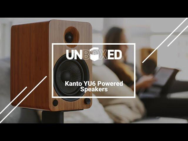 UNBOXED: Kanto YU6 Powered Speaker