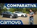 Mazda 3 vs Honda Civic - Comparativa / Opinión / Review / Prueba / Test en español | Carnovo