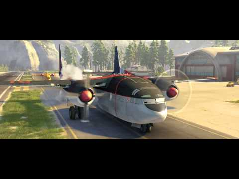 Planes 2 Fire & Rescue Clip - Drop The Needle - Official Disney | HD