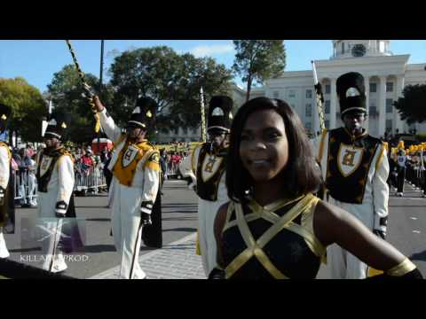 Alabama State University Marching Band - Turkey Day Classic Parade - 2016