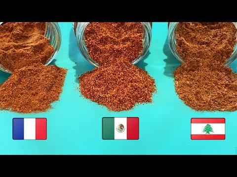 mélanges-d'épices-maison:-épices-mexicaines-pour-fajitas,-7-épices-libanaises,-4-épices-françaises