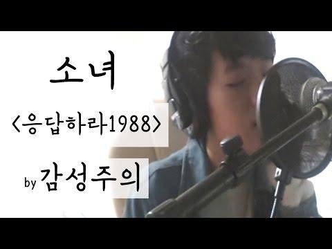 감성주의 응답하라1988 ost 소녀 커버(cover)