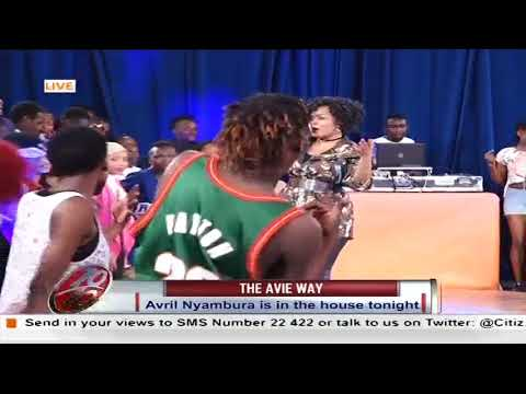 [Performing Live] Avril Nyambura is in the house , The Avie Way