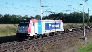 Traxx 186.182 Metrans u Opočínku