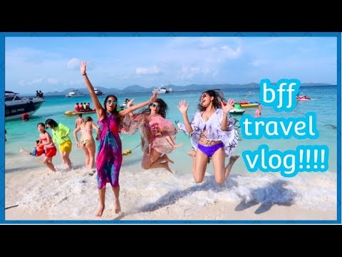 TRAVEL VLOG TO PHUKET WITH BEST FRIENDS!!