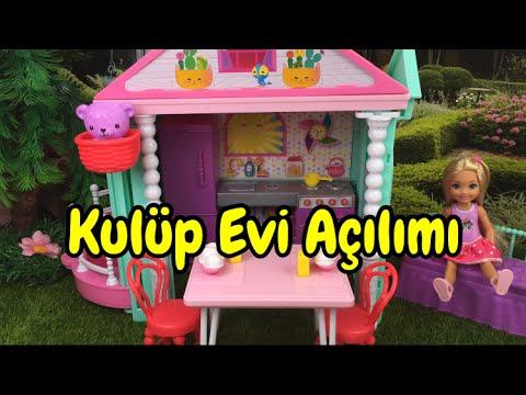 Barbie Klüp Evi Açılımı! - Barbie Ailesi / Türkçe Barbie Videoları İzle