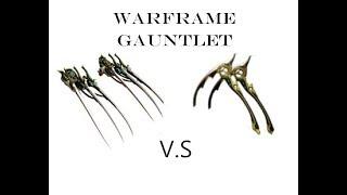 Dual Kamas Prime vs Venka Prime - Warframe Gauntlet