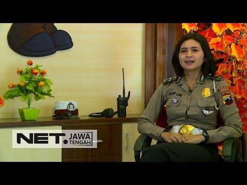 Peringati Hari Polisi Wanita Beginilah Cerita Inspiratif Dari Polwan Cantik di Grobogan - NET JATENG