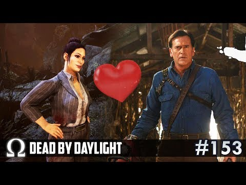 ASH FINDS HIS TRUE LOVE! (Evil Dead DLC) | Dead by Daylight DBD #153 Trapper / The Shape |