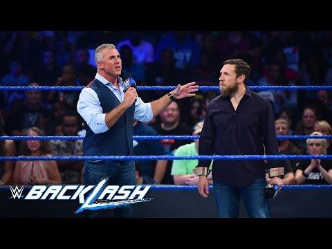 Shane McMahon & Daniel Bryan kick off the first SmackDown LIVE pay-per-view: Backlash 2016