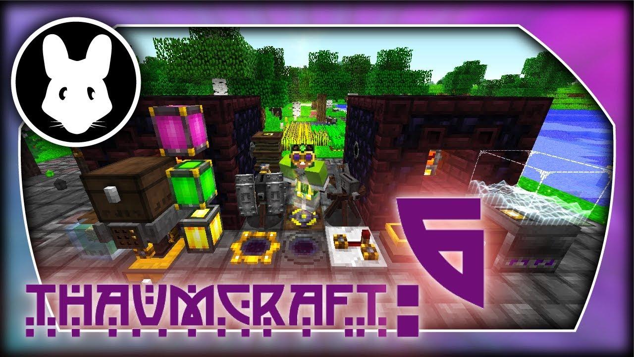 Thaumcraft 6 Beta Infusion Pt2! Bit-by-Bit for Minecraft