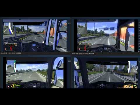 [ETS2:MP] 4 IN LOVE - Stuttgart to Carlisle on Mar 21, 2015