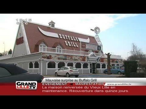 Grenouille morte : Mauvaise surprise au Buffalo Grill ! (Lille)