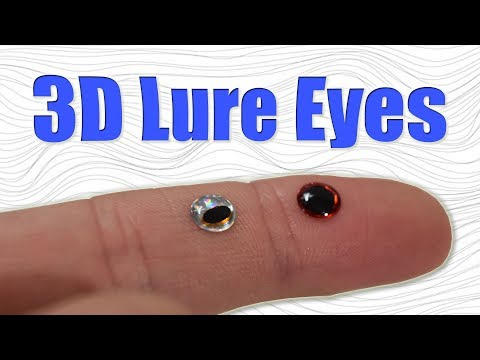 Making 3D Epoxy Lure Eyes for Fishing Lures (for Free!)